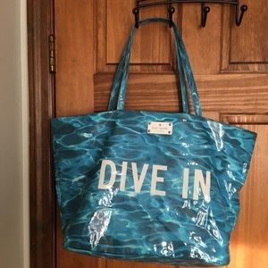Kate Spade Daycation Tote and Cosmetic Pouch